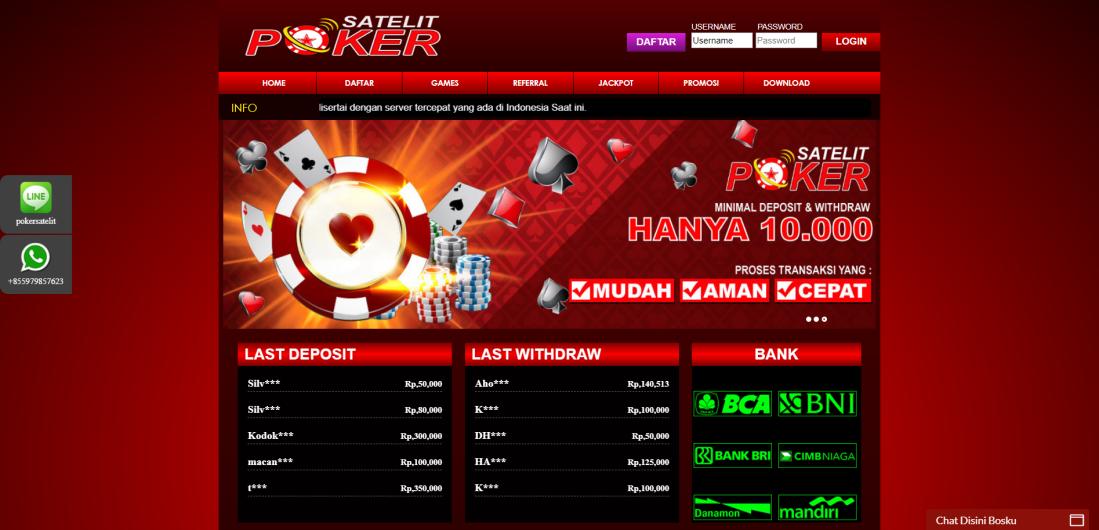 Dapatkan Jackpot Terbesar Poker Online Bersama Satelitpoker
